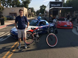 World Speed driver Colin Mullan is raising money and awareness for Team Fox. Team Fox is the grassroots community fundraising program at The Michael J. Fox Foundation for Parkinson's Research .